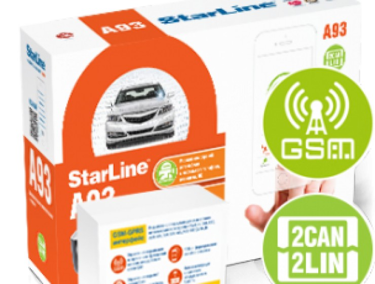 StarLine A93 2CAN+2LIN GSM