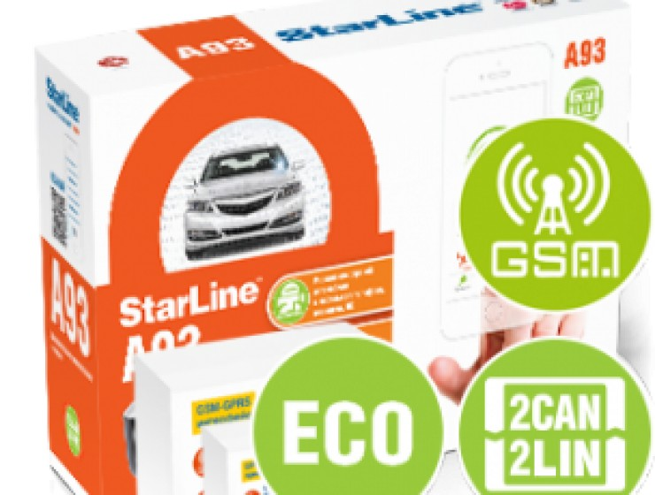 StarLine A93 2CAN+2LIN GSM-GPS ECO