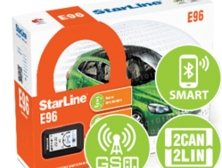 StarLine E96 BT 2CAN+2LIN GSM-GPS