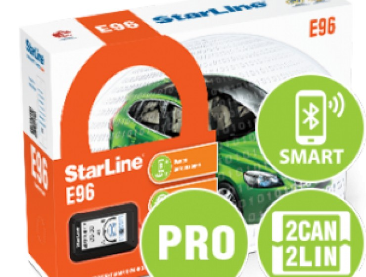 StarLine E96 BT 2CAN+2LIN PRO